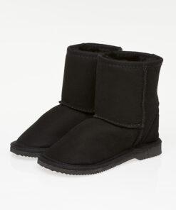 Ugg Boots Kids Mid Calf Black