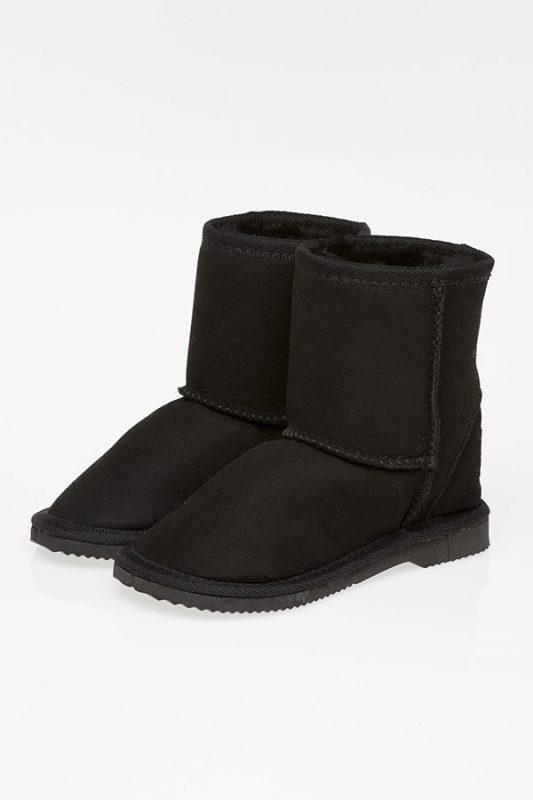 Ugg Boots Kids Mid Calf Black