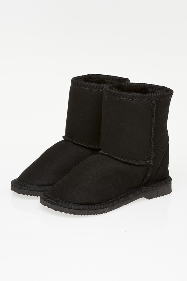d00794ef02f Ugg Boots Kids Mid Calf Black - Gee Sheepskin