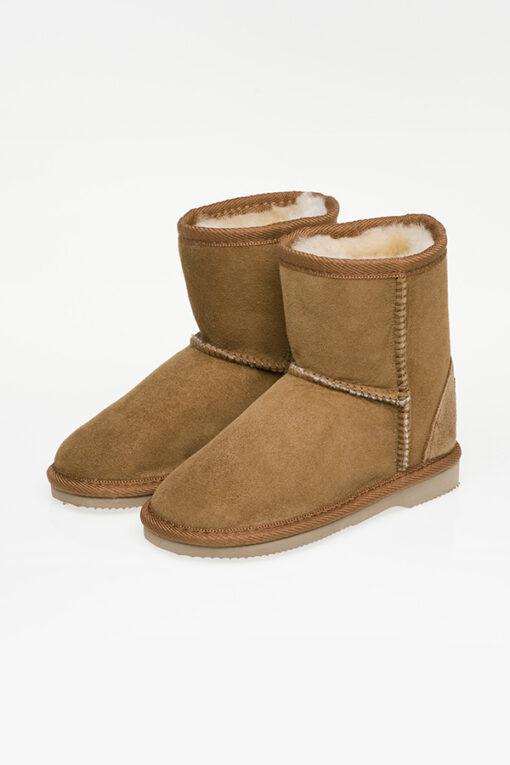 Ugg Boots Kids Mid Calf Chestnut