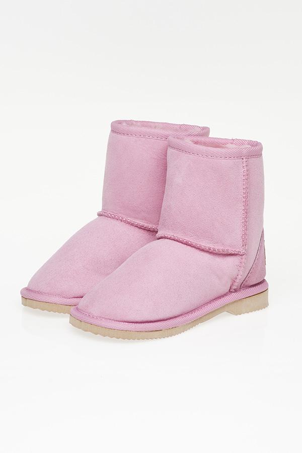 a2f17d30fcc Ugg Boots Kids Mid Calf Orchid Pink - Gee Sheepskin