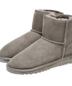 Ugg Boots Low Calf Unisex Grey