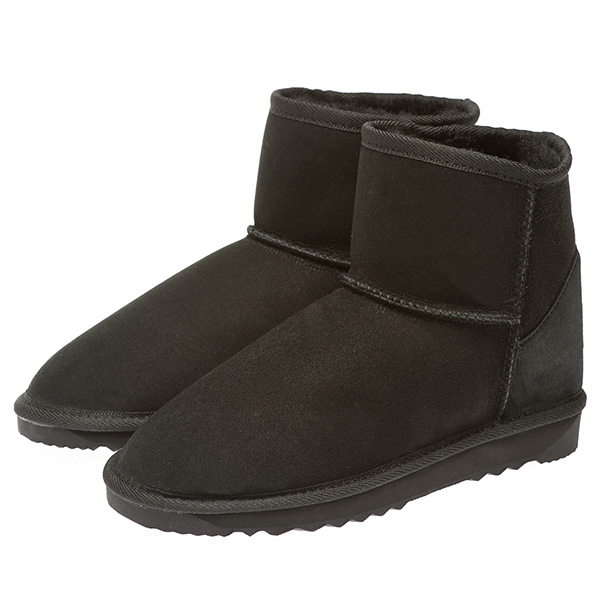 Ugg Boots Low Calf Unisex Black