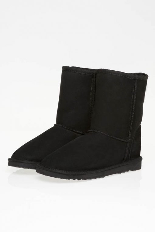 Ugg Boots Mid Calf Unisex Black