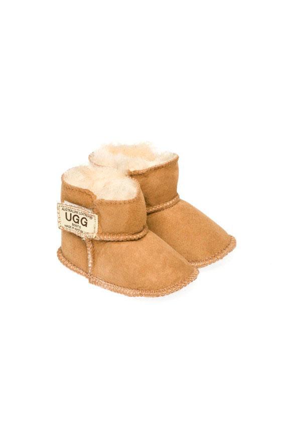 6df813603ca Ugg Boots Baby Booties Chestnut - Gee Sheepskin