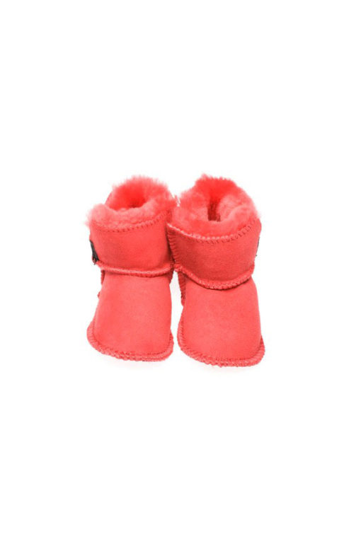 4c6155f9bc3 Ugg Boots Baby Booties Coral - Gee Sheepskin