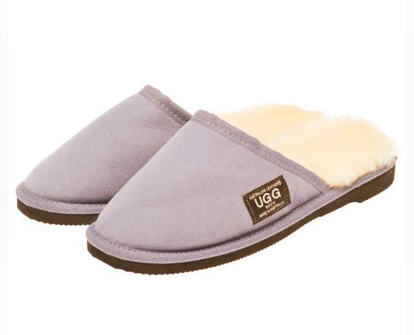 69e7eddd9ff Ugg Boots Scuffs Grey - Gee Sheepskin