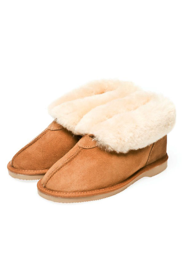 ad878f5bccc Ugg Boots Ladies Slipper Chestnut - Gee Sheepskin